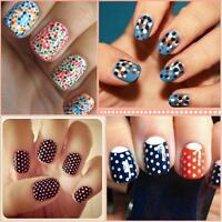 Marbleizing Dotting Manicure Tools Painting Pen Nail Art Paint 0525 5 Pcs 2 Way