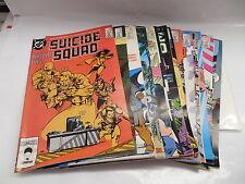 Suicide Squad DC Comic Books 1987 Series X17 Justice League Batman Apps.
