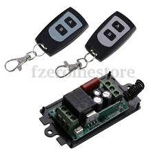 220V 10A 1CH Channel Wireless Relay Remote Control Switch Transmitter + Receiver