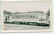 D270 RP 1939 NORTHERN INDIANA RAILWAY TRAIN TROLLEY CAR #222 SOUTH BEND IN