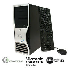 Dell Precision 490  Intel Xeon Quad Core E5345 1TB HDD Computer Desktop / PC