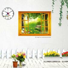 Zen Window Forest View Wall Sticker Decal Home Decoration Art Vinyl Mural Room