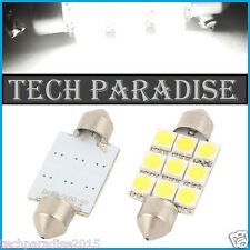 1x Ampoule 39mm C3W C5W C7W C10W LED 9 SMD Blanc White plaque Navette Festoon