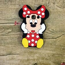 Red 3D Minnie Mouse Soft Silicone Back Case For Samsung Galaxy Core i8260 i8262