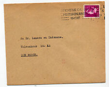 Haarlem Transorma ident BZ 1947 neat cover postal mechanisation sorting