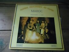 33 TOURS / LP--COMPIL--MUSIQUE FOLKLORIQUE DU MONDE - MAROC - J.D. SABRIE