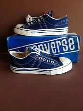 "10 Pairs--Vintage USA Converse ""Straight Shooters"" Navy Blue, Old Store Stock"