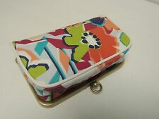 Fossil IVY frame cosmetic in bright floral  NWT