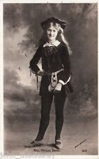 Edwardian Actress Miss Phyllis Dare - Postcard Ref 0372 Rare