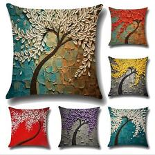 NEW Pillow case Creative home Decor cushion cover 3D Oil painting Dark Red