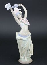 Retired LLADRO Spain MOMI Hawaiian Dancing Girl 1529 Porcelain Figurine NR PDW