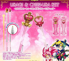 BANDAI Sailor Moon Prism Stationary USAGI & CHIBIUSA Pointer Ballpoint Pen Set
