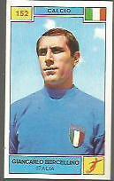 FIGURINA CARD  PANINI CAMPIONI DELLO SPORT 1969/70 # 152-BERCELLINO GIANCARLO