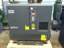 2014 Atlas Copco GX11FF Rotary screw air compressor with integrated air dryer