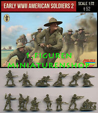 1:72 FIGUREN M113 EARLY WWII AMERICAN SOLDIERS SET 2 - STRELETS