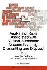 Nato Science Partnership Subes 1 Ser.: Analysis of Risks Associated with...
