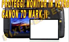 PROTEZIONE SCHERMO FOTOCAMERA CANON EOS 7D MARK II 7DII LCD SCREEN PROTECTOR