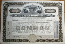 'Empire Corporation' 1932 Stock Certificate Iss. to 'Baltimore Gillet Company'