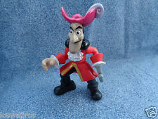 "Disney Peter Pan Captain Hook PVC Figure or Cake Topper 3 1/4"" High"