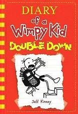 Double Down - Diary of a Wimpy Kid Book 11 by Jeff Kinney (Hardback 2016 New