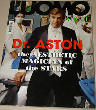 L'UOMO VOGUE MAGAZINE=2007/380=DR. ASTON THE AESTHETIC MAGICIAN OF THE STARS=