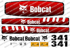 BOBCAT 341 MINI PELLE DECAL SET