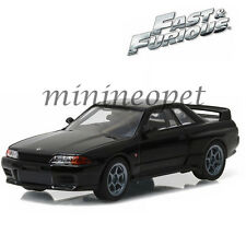 GREENLIGHT 86229 FAST AND FURIOUS 7 1989 NISSAN SKYLINE GT-R R32 1/43 BLACK