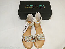Kendall & Kylie Madden Girl Karrmaa shoes Sandals 7 1/2 W 7.5 Womens juniors ^^