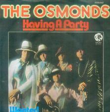 "7"" Osmonds/Having A Party (D)"