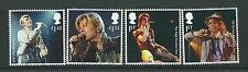 GREAT BRITAIN 2017 DAVID BOWIE SET OF 4 EX. MINIATURE SHEET FINE USED