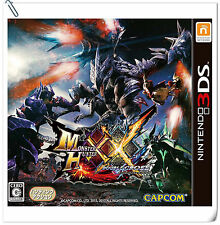 3DS Monster Hunter XX Nintendo Capcom Action RPG Games