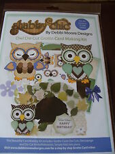 Debbi Moore Shabby Chic Owl Die Cut Grotto Cardmaking Kit