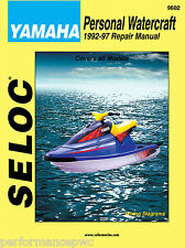 Yamaha Superjet Wave Blaster Runner 1992-1997 Service Repair Manual Seloc 9602