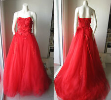 *LittleBlueSmurf* Red Tube Wedding Gown