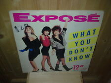 "EXPOSE what you don't know 12""  MAXI 45T Special mixes"