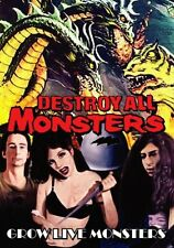 Destroy All Monsters   Grow Live Monsters    DVD  Niagara Detroit
