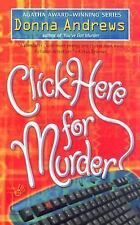 Click Here for Murder (A Turing Hopper Mystery) Andrews, Donna Mass Market Pape