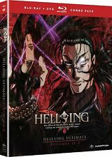 Hellsing Ultimate . Volume 9-10 Collection . Vol. 9 + 10 Anime . 2 DVD + Blu-ray