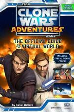 NEW Clone Wars Adventures Star Wars Official Guide to the Virtual World Book