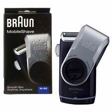 **NEW** MENS BRAUN M90--MICRO FOIL-ELECTRIC TRAVEL POCKET BATTERY SHAVER