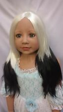 """NWT Monique Jade Panda Doll Wig 19 1/2"""" fits Masterpiece Doll(WIG ONLY)"""