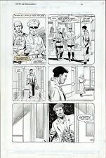 "UNKNOWN SOLDIER #6 DC COMICS ORIGINAL ART PAGE 17 LARGE 13"" x 19"" ARTWORK WAR"
