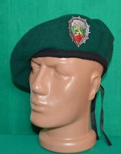 Bulgarian Army Border Police GREEN BERET Uniform Cap
