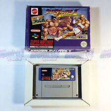 Street Fighter II: Turbo - RARE [BOXED] SNES Super Nintendo PAL [TESTED]