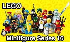 LEGO 71013 Minifigures Series 16 - Complete Set of 16 minifigure