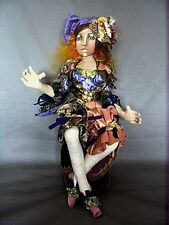 "*NEW* CLOTH ART DOLL PATTERN ""JEWEL OF EXPERIENCE"" BY CHRISTINE SHIVELY"