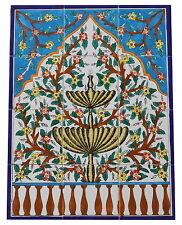 Fliesenbild Keramikfliesen Orientalisch Handbemalt Wandfliesen Mediterran Mosaik