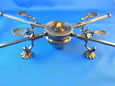 STERLING SILVER WARMER CHAFING DISH RARITY um 1800