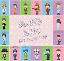 Baby Shower Party Game-Indovina chi è il papà? -20 Player-Gratis UK Spese Postali