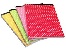 Solid Dot Pad Letter Writing Stationery Paper 9 Colors 63 Sheets Dot Memopad